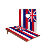 Dale Hawaii Flag Recreation Cornhole Boards