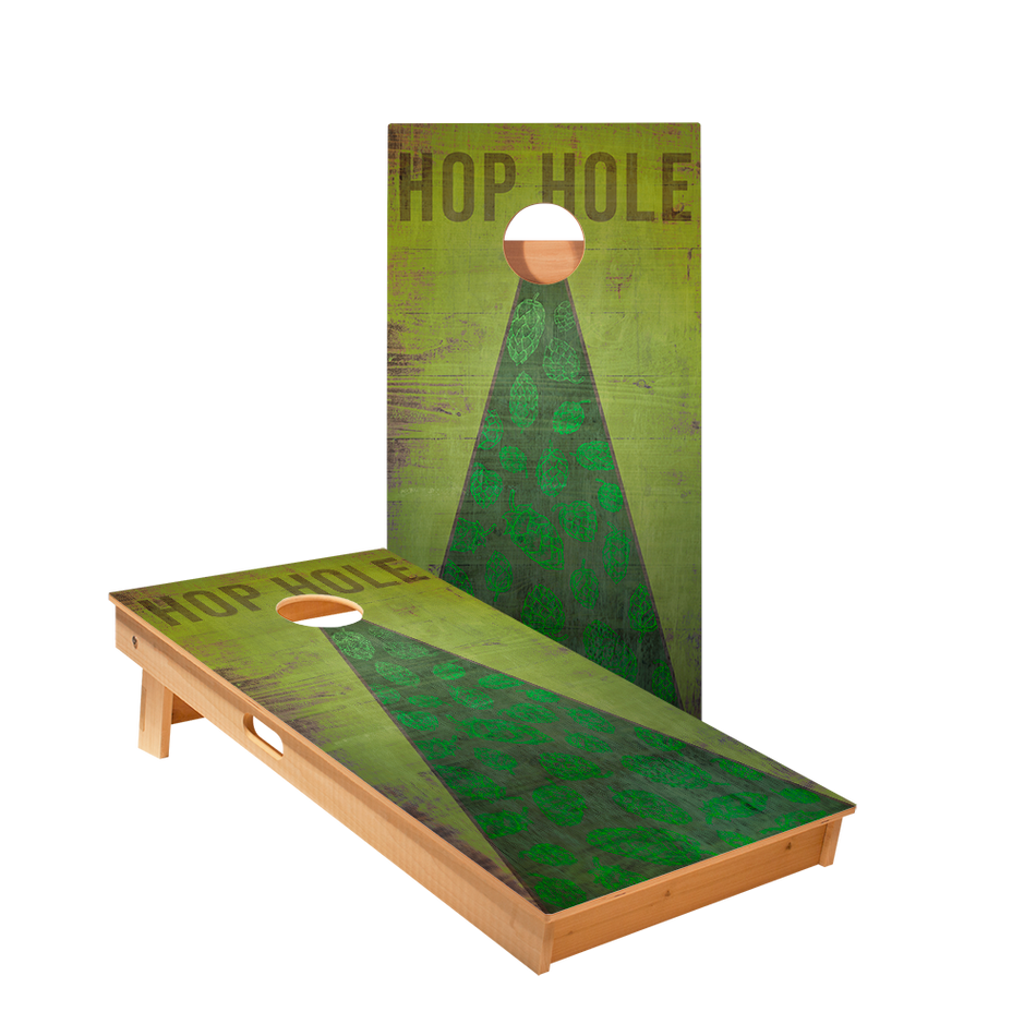 Hop Hole Regulation Cornhole Boards Bag Toss Game Set