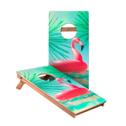KG Inflatable Flamingo Recreation Cornhole Boards