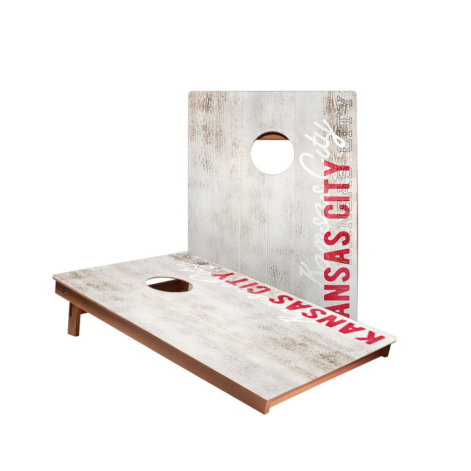 Dale Kansas City Vintage Gameday Recreation Cornhole Boards