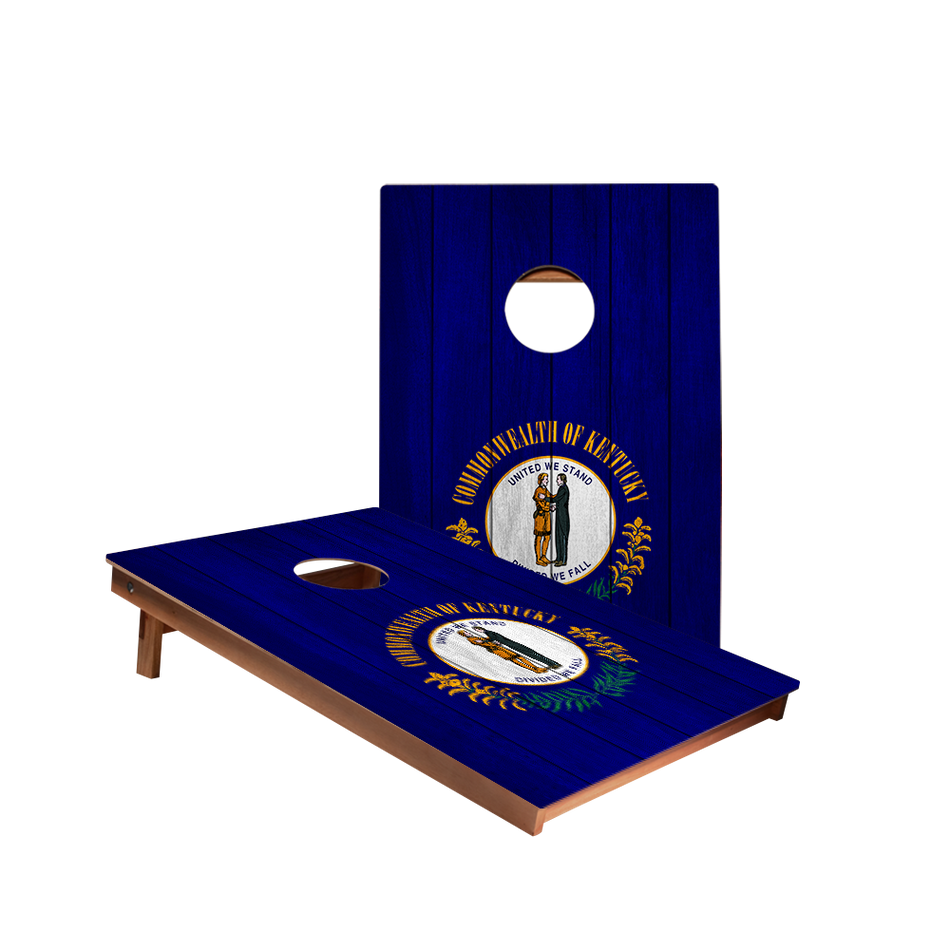 Dale Kentucky Flag Recreation Cornhole Boards