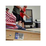 Cornhole Tournament QR LABELS