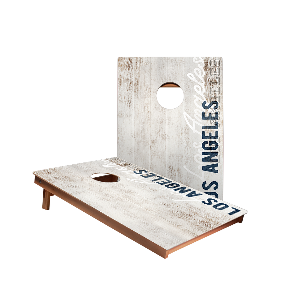 Dale Los Angeles Blue Vintage Gameday Recreation Cornhole Boards