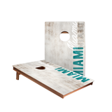 Dale Miami Vintage Gameday Recreation Cornhole Boards