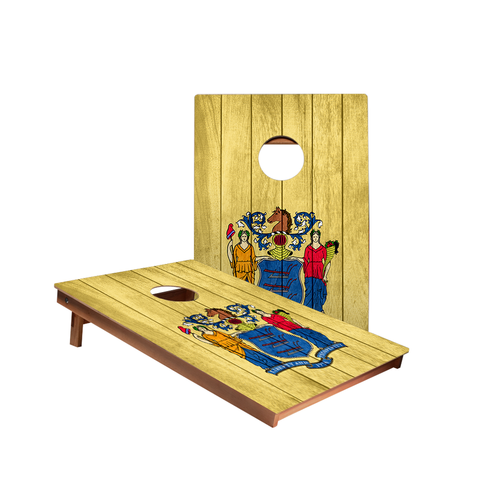 Dale New Jersey Flag Recreation Cornhole Boards