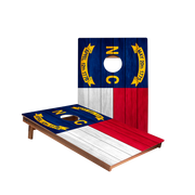 Dale North Carolina Flag Recreation Cornhole Boards