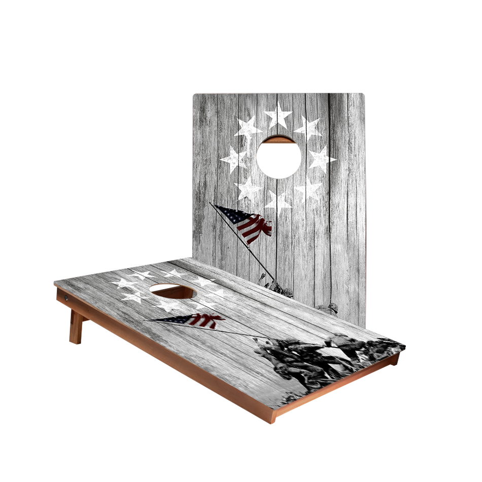 Dale Raise The Flag Recreation Cornhole Boards