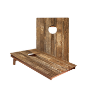 Dale Rustic Wood Panel Recreation Cornhole Boards