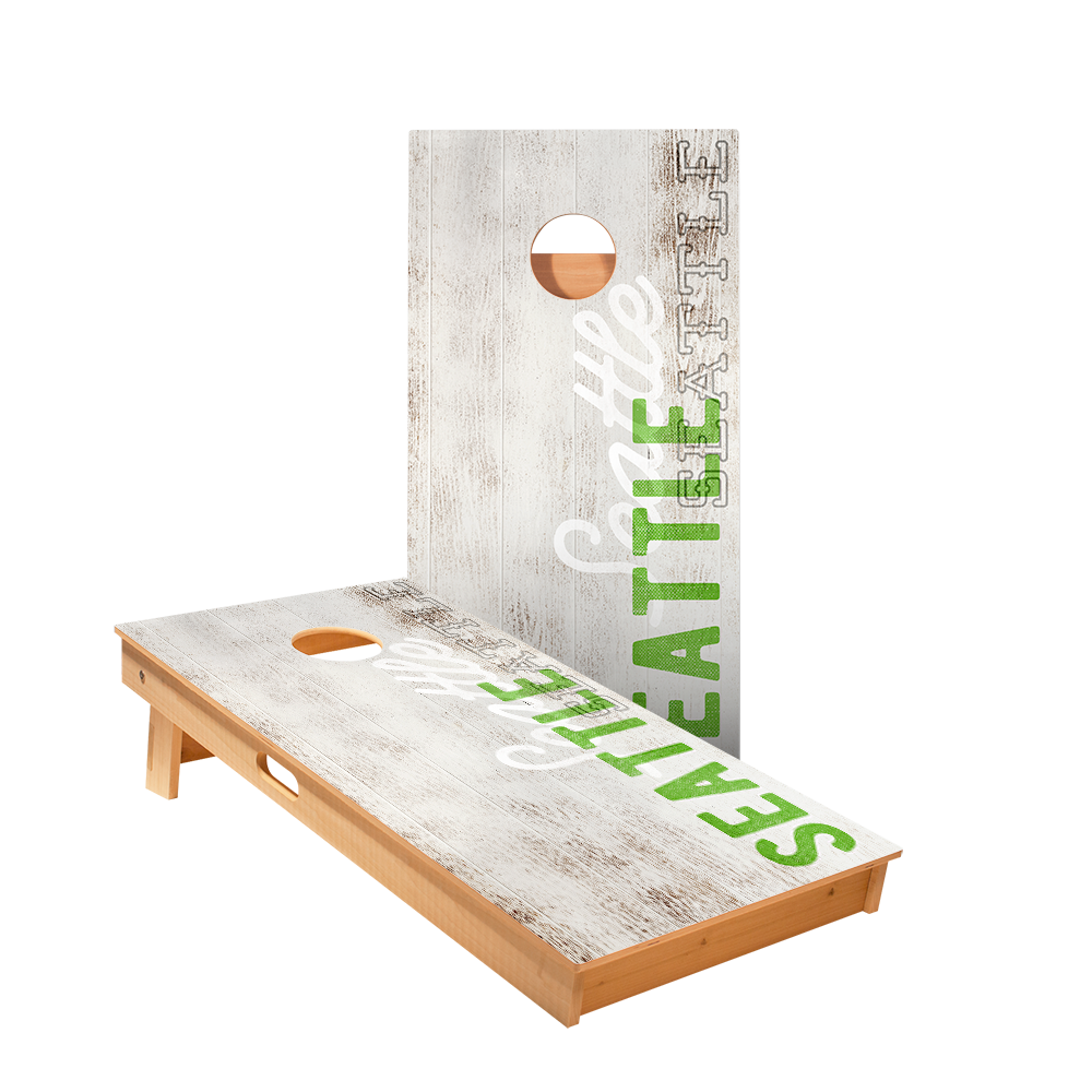 Star Seattle Vintage Gameday Professional Cornhole Boards
