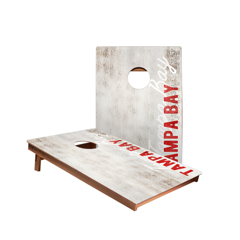 Dale Tampa Bay Vintage Gameday Recreation Cornhole Boards
