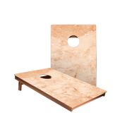 Dale Tan Marble Recreation Cornhole Boards