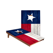 Dale Texas Flag Recreation Cornhole Boards