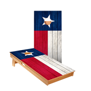 Star Texas Flag Professional Cornhole Boards
