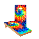Star Tie-Dye Color Professional Cornhole Boards