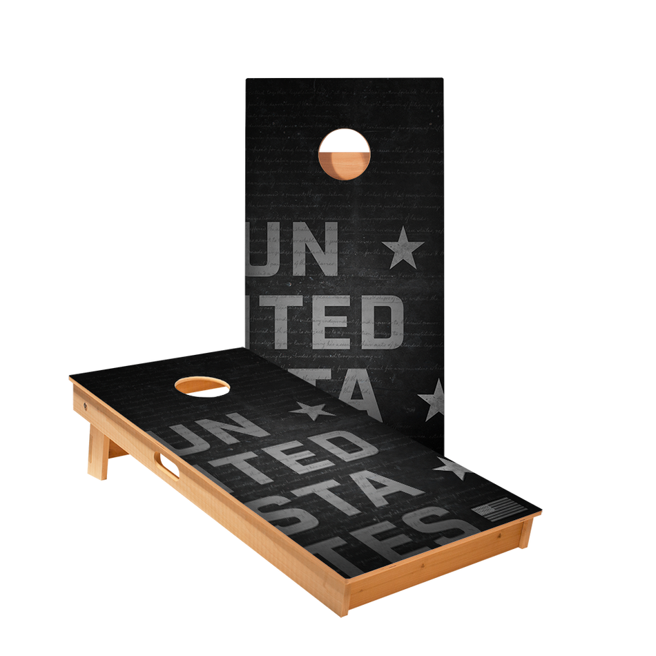 Star United States Constitution Professional Cornhole Boards