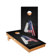 Star United States Flag Constitution Professional Cornhole Boards
