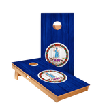 Virginia Flag Regulation Cornhole Boards Bag Toss Game Set