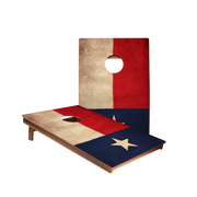 Dale Vintage Texas Flag Recreation Cornhole Boards