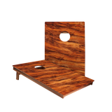 Dale Wavy Wood Panel Recreation Cornhole Boards