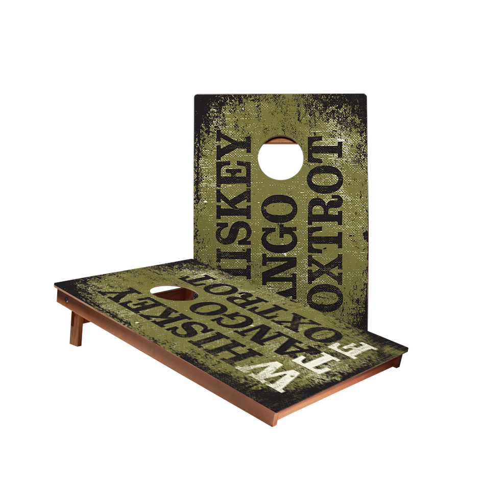 Dale Whiskey Tango Foxtrot Recreation Cornhole Boards