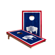 Dale Wyoming Flag Recreation Cornhole Boards