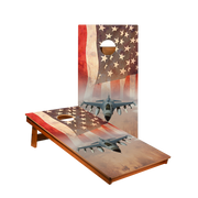 MP2 American Flag With Jet Professional Cornhole Boards