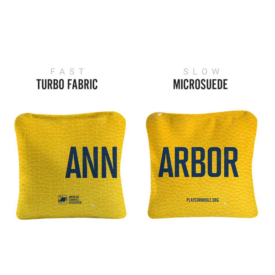 Synergy Gameday Ann Arbor Pro Cornhole Bags