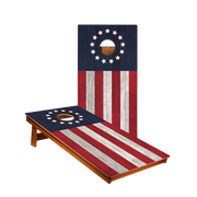 MP2 Betsy Ross Flag Professional Cornhole Boards