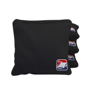Black All Weather Cornhole Bags
