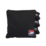 Black Corn Filled Cornhole Bags