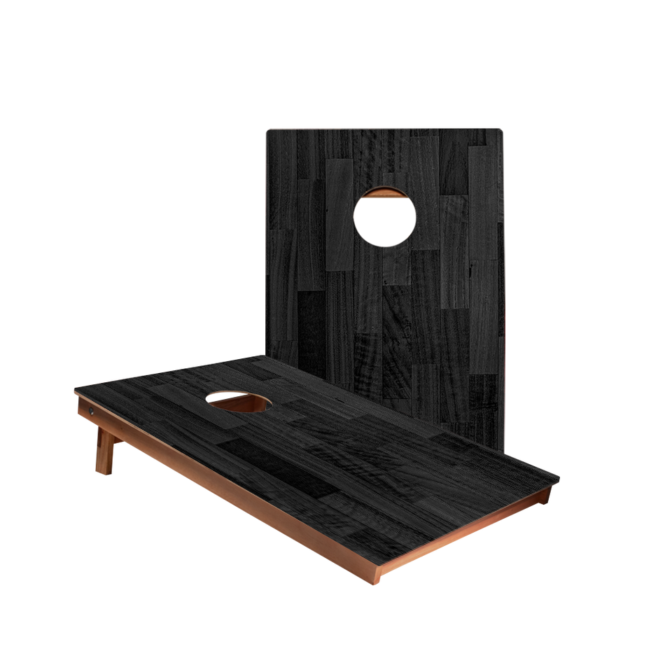 Dale Black Small Panel Wood Recreation Cornhole Boards