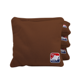 Brown All Weather Cornhole Bags