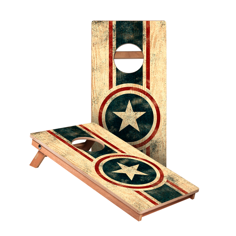 KG American Captain Junior Cornhole Boards bag toss game set