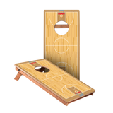 KG Basketball Court Junior Cornhole Boards bag toss game set