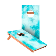 Blue Marble Junior Cornhole Boards bag toss game set