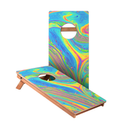 KG Oil Slick Junior Cornhole Boards bag toss game set