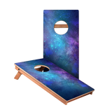KG Blue Galaxy Junior Cornhole Boards bag toss game set