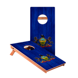 KG Pennsylvania Flag Junior Cornhole Boards bag toss game set