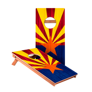 KG Arizona Flag Junior Cornhole Boards bag toss game set