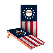 KG Betsy Ross Flag Recreation Cornhole Boards