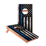 Blue Lives Matter Junior Cornhole Boards bag toss game set