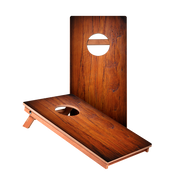 KG Dark Panel Wood Recreation Cornhole Boards
