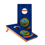 Idaho Flag Junior Cornhole Boards bag toss game set