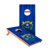 Nevada Flag Junior Cornhole Boards bag toss game set