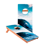 KG Ocean Wave Junior Cornhole Boards bag toss game set