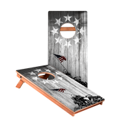 Raise The Flag Junior Cornhole Boards bag toss game set