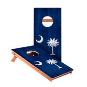 KG South Carolina Flag Junior Cornhole Boards bag toss game set
