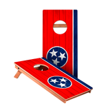 Tennessee Flag Junior Cornhole Boards bag toss game set