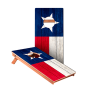 KG Texas Flag Junior Cornhole Boards bag toss game set