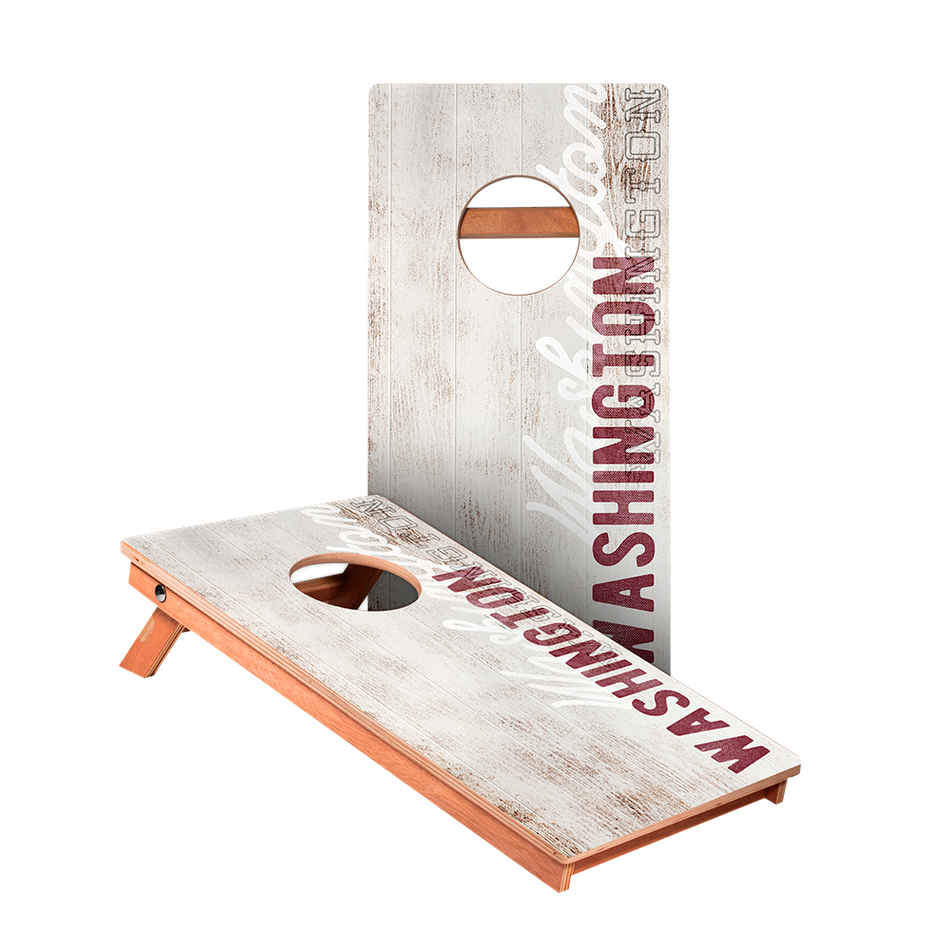 KG Washington Vintage Gameday Recreation Cornhole Boards